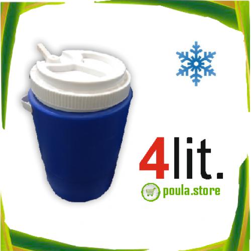 4Lit. Φορητό ηλεκτρικό ψυγείο για το σπίτι & το αυτοκίνητο 12V