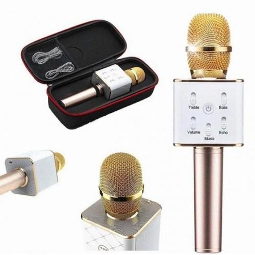 Q7 Ασύρματο Wireless Microphone Karaoke σε θήκη μεταφοράς