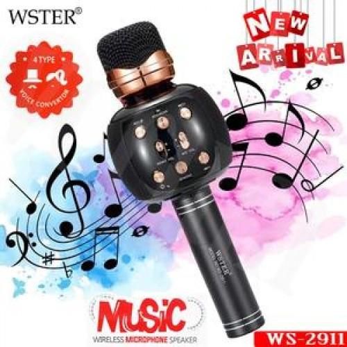 WS2911 Επαγγελματικό ασύρματο μικρόφωνο καραόκε Bluetooth Radio Studio Εγγραφή Mic