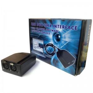 ΛΟΓΙΣΜΙΚΟ ΦΩΤΙΣΜΟΥ USB DUO DMX INTERFACE 1024 ΚΑΝΑΛΙA