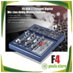 F4-MB USB/FX ΚΟΝΣΟΛΑ-ΜΙΚΤΗΣ BLUETOOTH