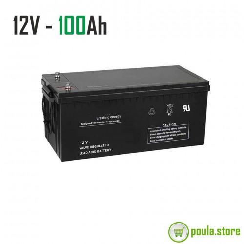 Μπαταρία Φωτοβολταικών 100Ah – 12V