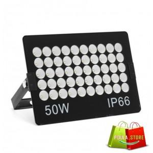 50W Αδιάβροχο λευκό φως IP66 Εξαιρετικά λεπτός LED AC22V