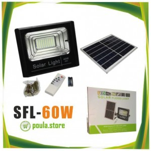 Ηλιακά φώτα φωτισμού υπαίθρια φώτα ασφάλειας LED IP66 αδιάβροχα 60W