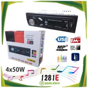 1281E Ηχοσύστημα αυτοκινήτου USB-SD-RADIO 2x50W