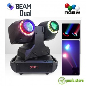 Moving Head DOUBLE Beam 80W