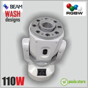WHITE ROBOT Wash-Beam 110W