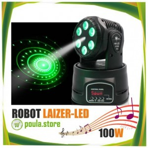 2018 New ROBOT STAGE RGB LAIZER-LED 100W