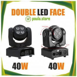 Double Led ROBOT Face 80W