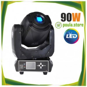 90W LED Moving Head Spot Stage Lighting DMX 512