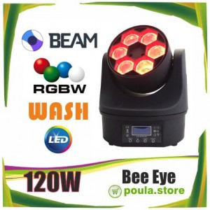 Big-EYE ROBOT LED 6x20W RGBW BEAM WASH 120W