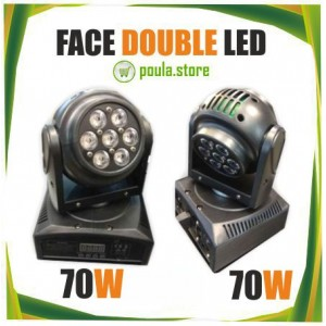 ROBOT Double Led Face 70W+70W