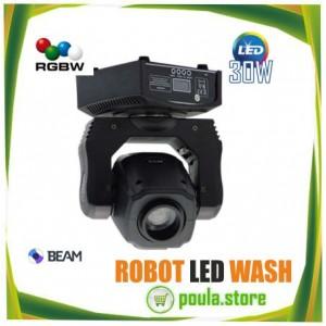 dj ROBOT LED BEAM WASH 30W
