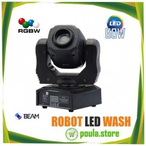 ROBOT LED BEAM WASH 60W