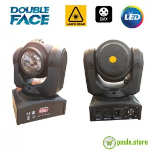 ROBOT DOUBLE LASER & DISCO LED