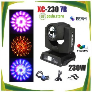 BEAM MOVING HEAD XC-230 7R Wildstar 230W