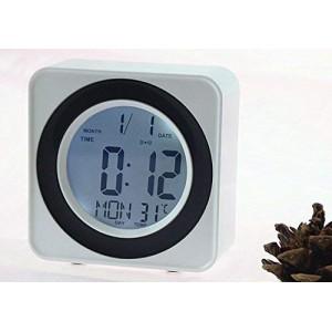 Ψηφιακό ρολόι οθόνης LCD DS-3616 γραφείο - φωνητικός έλεγχος ταμπλό -ξυπνητήρι