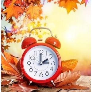 N-8819 Κλασικό Αναλογικό λευκό ρολόι Χρωματιστά Μικρό