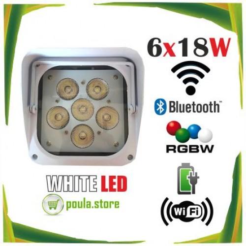 LED Par Wifi 6x18W DMD RGBW 6in1