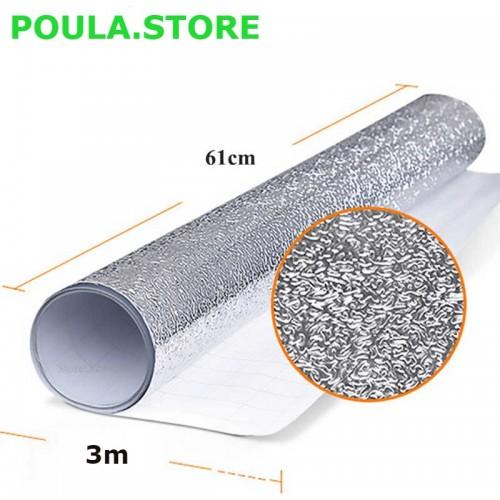 61cm x 300cm παχιά αυτοκόλλητα από αλουμινόχαρτο