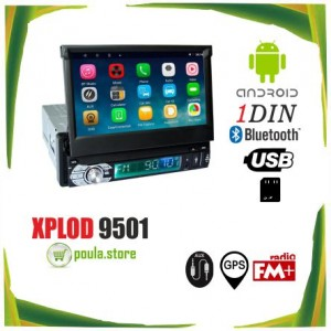 "XPLOD TOUCH 9509 1din car radio 7 ""- Android-GPS-WIFI-USB-AUX-FM-BLUETOOTH"