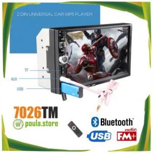 7026 TM Οθόνη Αυτοκινήτου Touch Lcd 7' Bluetooth/Usb