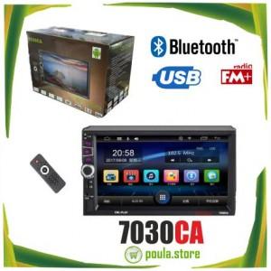 7030CA Touch Radio Bluetooth Car