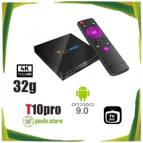 T10 PRO Amlogic S905X2 Android 9.0 4GB DDR4 32GB