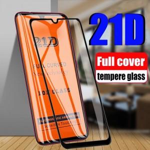 21D Πλήρες καμπύλο κάλυμμα Προστατευτικό γυαλί για το Samsung Galaxy A50 A10 A20 A30
