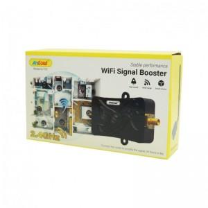 Ενισχυτής σήματος 1x4 Wifi Q-T117 Andowl 2.4~2.5Ghz