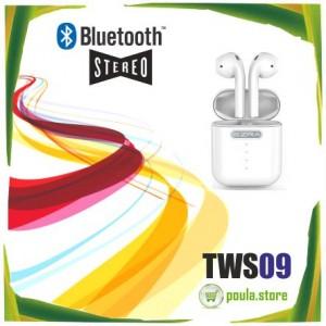TWS09 EZRA Ασύρματα Sterreo ακουστικά Bluetooth 5.0 Σύνδεση Pop-up