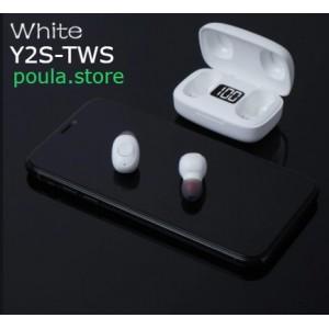 Ασύρματα ακουστικά EARBUDS Y2S-TWS χρωματιστά με οθόνη Led