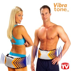 Ζώνη Αδυνατισματος με Δόνηση Vibra Tone