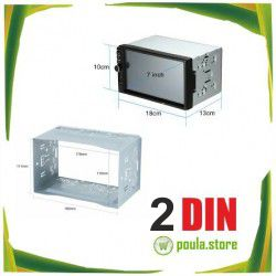 2 DIN Διάσταση ηχοσυστήματος