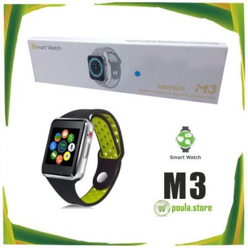 "M3 Smartwatch MIWEAR Bluetooth 1.54 """