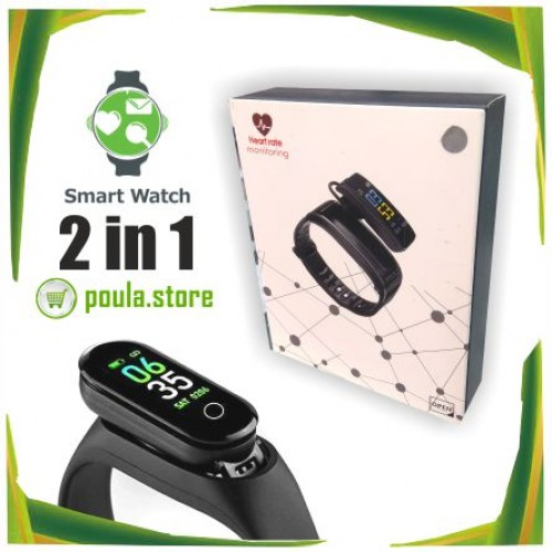2in1 Smart Watch & Ακουστικό Bluetooth