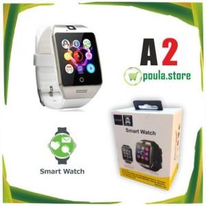 A2 Smartwatch Bluetooth με υποστήριξη Sim Card Aσημί